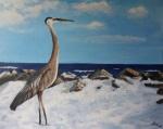 Island crane